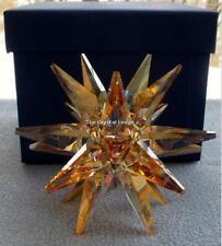 SWAROVSKI STAR CANDLEHOLDER GOLDEN SHADOW 5064296 MINT BOXED RETIRED RARE