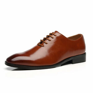 Mens Business Formal Dress Suit Oxfords Pointed Toe Casual Fashion Shoes Plus Si