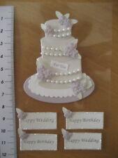 Scrapbook Sticker, Scrapbooking,Karten basteln, Hochzeit, Hochzeitstorte lila