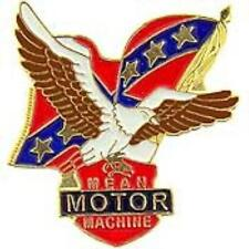 MEAN MOTOR MACHINE LAPEL PIN