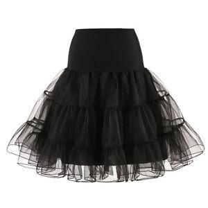 """RULTA Rockabilly 26"""" Retro 50s Swing Vintage Fancy Underskirt NET Petticoat M1"""