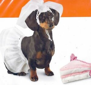 S,M,L wedding bride veil dog costume outfit  50%OFF
