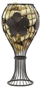 Wine Glass Cork Corral Holder Bar Accessory Wine Enthusiast Epic Home Decor Gift