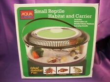 Small Reptile Habitat And Portable Carrier - Hermit Crabs - Frogs - Lizards