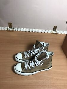 Chuck Taylor All Star High Top Converse Hi Tops brown size 4.5