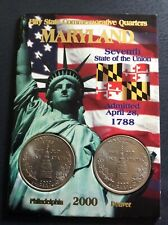 State Commemorative Quarters Coin - Maryland
