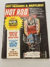 1971 July Hot Rod Magazine Zingers Pete Hamilton  Dragsters Funny Cars