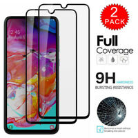 For Samsung Galaxy A10s - FULL COVER Tempered Glass Film Screen Protector 2-Pack