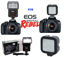 ZOOM BOUNCE FLASH + 36 LIGHT LED FOR CANON EOS REBEL T3 T3I T4 T4I T5 T5I T6 T6I