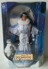 Disney Collector Winter Moon Pocahontas Doll Mattel 1999 *In Box*