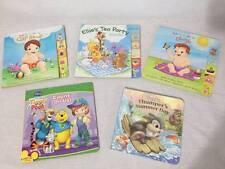 Lot of 5 Baby Board Books Disney Thumper, Pigger Pooh laugh, Tea Party Clap