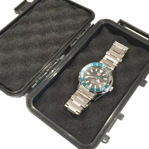 Tough Watch Strong Box Shockproof Waterproof Travel Case Seiko Divers Luxury