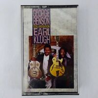 George Benson Earl Klugh Collaboration Cassette 1987 Warner Brothers Records