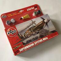 AIRFIX A55100 Small Starter Set - Supermarine Spitfire Mk.Ia. 1/72 scale Kit