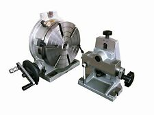 """10"""" Precision Rotary Table Combo ( with Dividing Plate and Tailstock )"""