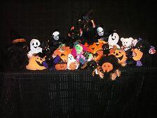 Halloween Beanie Babies Collection (22 Halloween beanie babies)