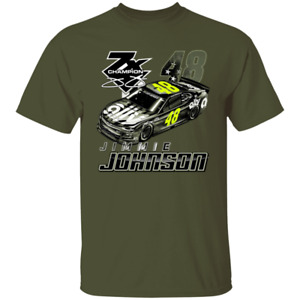 Men's Jimmie Johnson 2020 Hendrick Motorsports Team Collection T-Shirt S-5XL