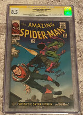 Amazing Spider-Man 39 CGC 8.5 Signed by Stan Lee and John Romita Sr.