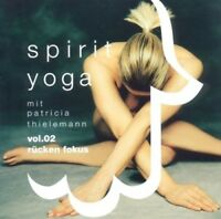 PATRICIA THIELEMANN - SPIRIT YOGA-VOL.2 (RÜCKENFOKUS)  CD NEU