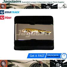 New Jaguar Leaper Chrome And Gold Money Clip In Box JDMCLG