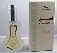 ASEEL 35ML ORIENTAL PERFUME SPRAY/EAU DE PARFUM FAMOUS AL REHAB RANGE