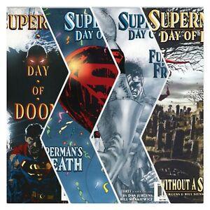 Superman Day Of Doom #1-4 Complete Mini Series DC Comics 2003