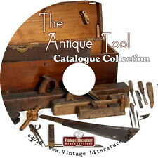 Antique Tool Catalog Collection 59 Vintage Identification Catalogs on DVD