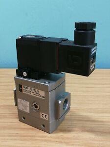 """SMC Air Pneumatic Soft Start Valve EAV2000 F02 50Z-Q 24V 1/4"""" BSP Ported"""