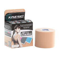 KINESIO Tape CLASSIC - 4m by 5cm BEIGE - Kinesiology Tape for Injuries & Support