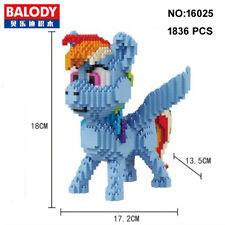 Balody 16025 My Little Pony Horse Animal Diamond Mini Building Nano Block Toy
