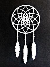 7 x dream catcher card toppers, birthday, paper craft, die cut, dreams, fantasy