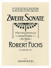 Fuchs: SONATA N. 2 in EB minore op. 83 per violoncello e pianoforte bp1084