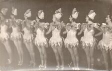 BD684 Carte Photo vintage card RPPC Femme woman ballet danse costume robe