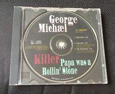 ❤️U.S PROMO CD❤️Killer/Papa Was A Rollin' Stone-George Michael (Wham!) RARE