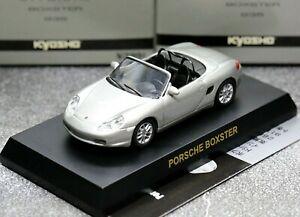 Kyosho 1/64 Porsche Collection 2 Porsche Boxster 986 1996 Silver