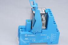 Finder Relais 55.34.9.024.0040 24VDC + 99.80.9.024.99 +  Sockel 94.94.3