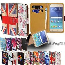 Leather Stand Flip Wallet Cover Phone Case For Samsung Galaxy Note 1/2/3/4/5/7