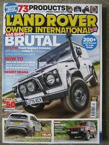 Land Rover Owner International December 2017 Defender Range Velar Discovery