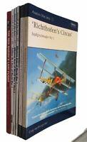 WWI German Aircraft Airplanes Lot of 6 Red Baron Albatoss Aces Jagdgeschwader