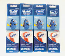 Lot Of 4! Finding Nemo Dory Oral B, 8 Replacement Brush Heads, Extra Soft Brush