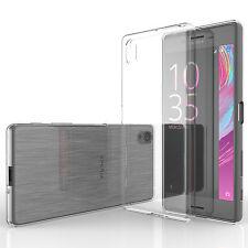 Yousave Accesorios Funda delgada transparente Gel de Silicona Rendimiento Sony Xperia X