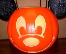 SALE!!  Disney Mickey Mouse TRICK OR TREAT large CANDY BUCKET Halloween Pumpkin