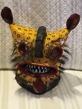 RARE Tigre mexican mask  Helmet from Zitlala Extremely RARE, Guerrero Mexico