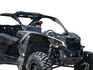 """SuperATV Clear Half Windshield for Can-Am Maverick X3 (64"""" or 72"""" Body)"""