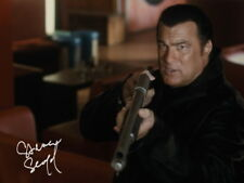 Steven Seagal SIGNED PHOTO Martial Arts AIKIDO AUTOGRAPH *LOOK*