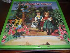 Vintage 1960's 3-D Magnetic Puzzles - Snow White / Hansel & Gretel