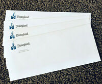 Vintage Disneyland Lot of 4 Unused Logo Envelopes