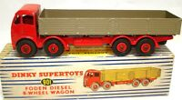 DINKY NO. 901 FODEN DIESEL 8 WHEEL WAGON - A/MINT & BOXED