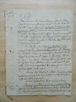 Manuscrito Unterschlagung De Agua Châtenoy-le-royal Berthet Garganta Macon 1723