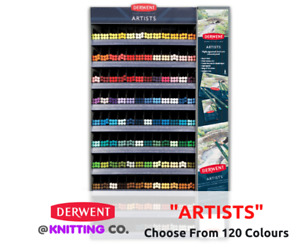 """Derwent """"Artists"""" Professional Coloured Pencil Singles - Choose From 120 Colours"""
